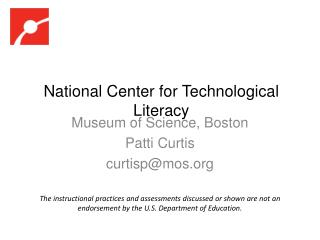 National Center for Technological Literacy