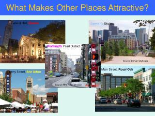 What Makes Other Places Attractive?