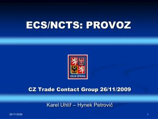 ECS/NCTS: PROVOZ