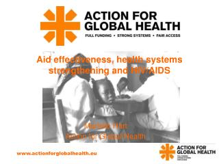 Aid effectiveness, health systems strengthening and HIV/AIDS