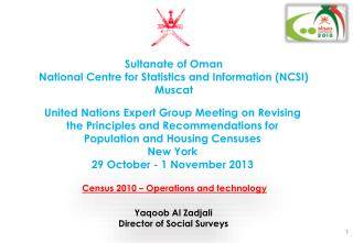 Census 2010 – Operations and technology