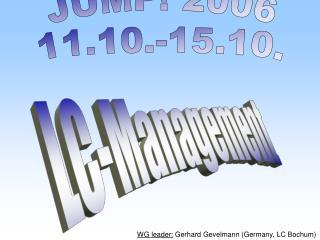 JUMP! 2006 11.10.-15.10.