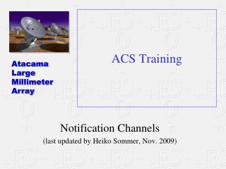 ACS Training
