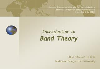 Introduction to Band Theory