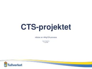 CTS-projektet