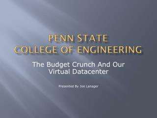 Penn State College of Engineering