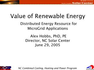 North Carolina Solar Center