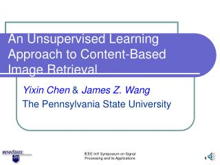 An Unsupervised Learning Approach to Content-Based Image Retrieval