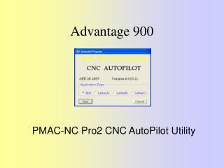 Advantage 900