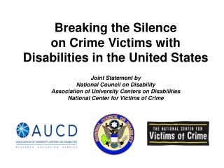 Breaking the Silence on Crime Victims with Disabilities in the United States
