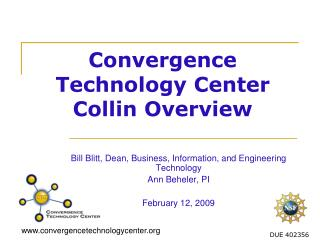 Convergence Technology Center Collin Overview