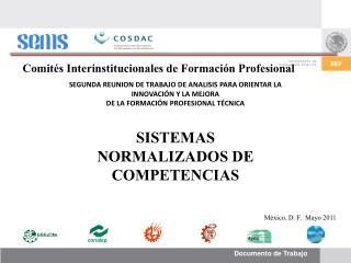 Comités Interinstitucionales de Formación Profesional