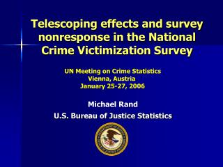 Telescoping effects and survey nonresponse in the National Crime Victimization Survey