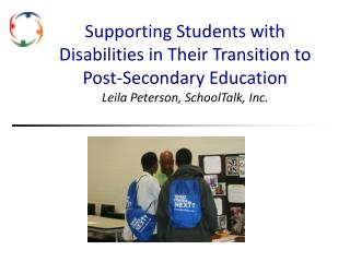 Supporting Students with Disabilities in  T heir Transition to Post-Secondary Education