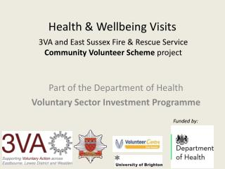 Health & Wellbeing Visits