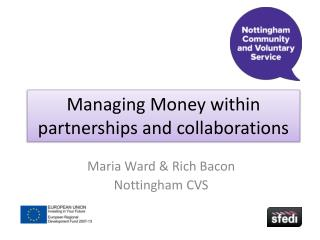Managing Money within partnerships and collaborations
