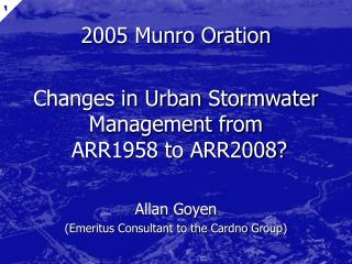 2005 Munro Oration
