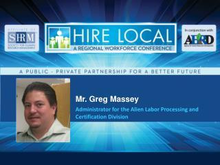 Mr. Greg Massey