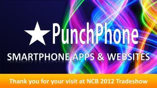 Smartphone apps & websites