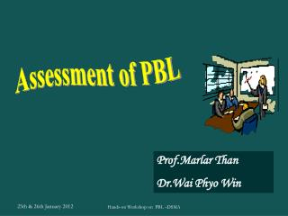 Assessment of PBL