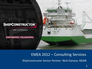 EMEA 2012 – Consulting Services