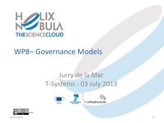WP8–  Governance Models