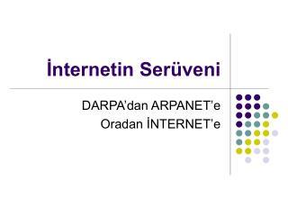 İnternetin Serüveni
