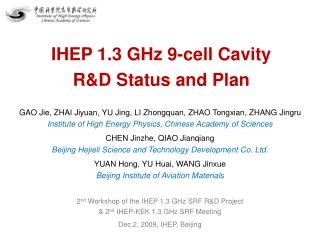 IHEP 1.3 GHz 9-cell Cavity R&D Status and Plan