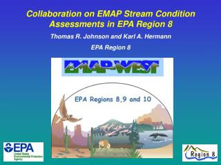 Collaboration on EMAP Stream Condition Assessments in EPA Region 8