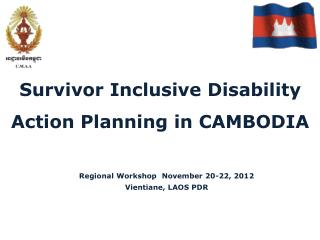 Survivor Inclusive Disability Action Planning in CAMBODIA