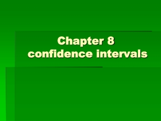 Do You Really Know All About Confidence Intervals