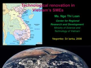 Technological renovation in  Vietnam�s SMEs