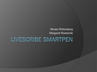 Livescribe SmartPen