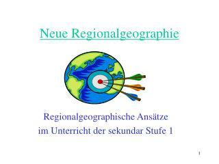 Neue Regionalgeographie
