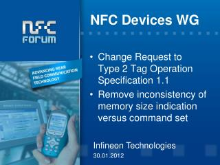 NFC Devices WG