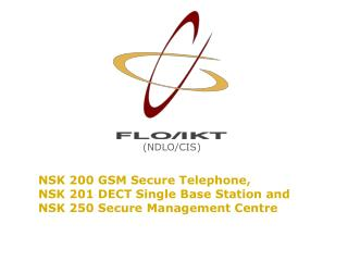 NSK 200 GSM Secure Telephone, NSK 201 DECT Single Base Station and