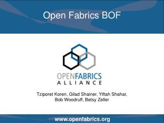 Open Fabrics BOF