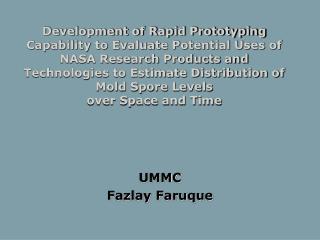 UMMC Fazlay Faruque