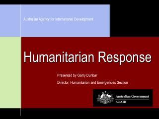 Humanitarian Response
