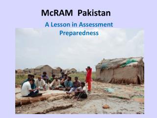 McRAM   Pakistan