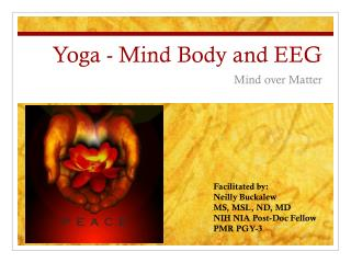 Yoga - Mind Body and EEG