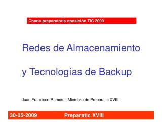 Charla preparatoria oposición TIC 2009
