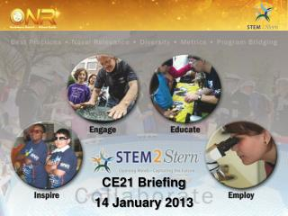 CE21 Briefing 14 January 2013