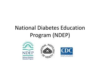 National Diabetes Education Program (NDEP)