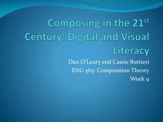 21st Century  Digital Literacy Skills