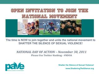 Shattering the Silence of Sexual Violence