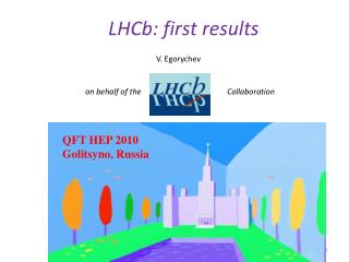 LHCb: first results