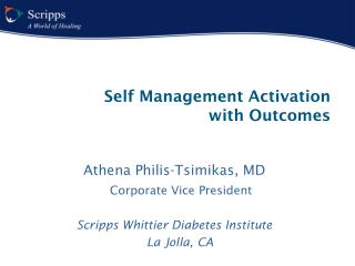 Self Management Activation  with Outcomes