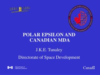 POLAR EPSILON AND  CANADIAN MDA