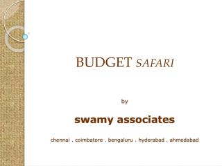 by swamy associates chennai . coimbatore . bengaluru . hyderabad . ahmedabad